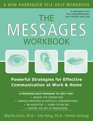 The Messages Workbook By Davis, Martha/ Paleg. Kim, Ph.D./ Fanning, Patrick